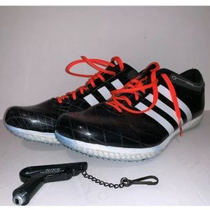 Adidas Adizero HJ Track Cleats WITH TOOL & SPIKES